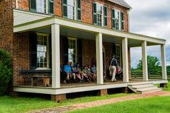 Ταβέρνα Hill τριφυλλιού στο εθνικό ιστορικό πάρκο σπιτιών δικαστηρίου Appomattox Στοκ φωτογραφία με δικαίωμα ελεύθερης χρήσης