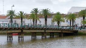 ΤΑΒΊΡΑ, ΝΟΤΙΟ ALGARVE/PORTUGAL - 8 ΜΑΡΤΊΟΥ: Γέφυρα άνω Ri στοκ εικόνες