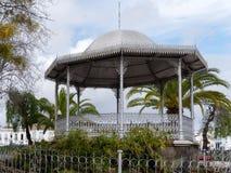 ΤΑΒΊΡΑ, ΝΟΤΙΟ ALGARVE/PORTUGAL - 8 ΜΑΡΤΊΟΥ: Bandstand σε Tavir στοκ φωτογραφίες