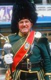Ταγματάρχης τυμπάνων για την παρέλαση ημέρας του ST Πάτρικ, Στοκ Εικόνες