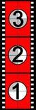 ταινία αντίστροφης μέτρηση&sigm Στοκ φωτογραφία με δικαίωμα ελεύθερης χρήσης