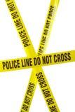 ταινία αστυνομίας γραμμών στοκ φωτογραφίες με δικαίωμα ελεύθερης χρήσης
