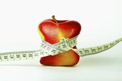 ταινία διατροφής μέτρου υγείας μπανανών Στοκ φωτογραφία με δικαίωμα ελεύθερης χρήσης