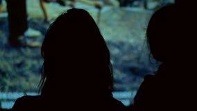Ταινία κινηματογράφων θεατών απόθεμα βίντεο