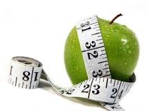 ταινία μέτρησης μήλων Στοκ φωτογραφία με δικαίωμα ελεύθερης χρήσης