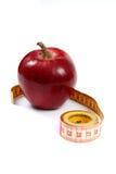 ταινία μέτρου μήλων Στοκ φωτογραφία με δικαίωμα ελεύθερης χρήσης