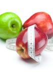 ταινία μέτρου μήλων Στοκ Εικόνα