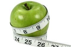 ταινία μέτρου μήλων Στοκ φωτογραφίες με δικαίωμα ελεύθερης χρήσης