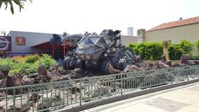 Ταινία Disneyland Παρίσι Armagedon στοκ φωτογραφία