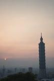 101 Ταιπέι Στοκ Φωτογραφία