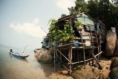 τακτοποίηση Ταϊλάνδη ψαράδων Στοκ φωτογραφία με δικαίωμα ελεύθερης χρήσης