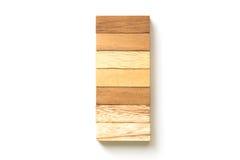 Τακτοποίηση της ξύλινης συσσώρευσης φραγμών Στοκ φωτογραφία με δικαίωμα ελεύθερης χρήσης
