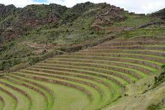 Τακτοποίηση Inca, Pisac, Περού Στοκ Φωτογραφία
