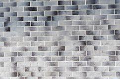 Τακτοποιημένος κατασκευασμένος τοίχος των τούβλων, υπόβαθρο στοκ φωτογραφίες με δικαίωμα ελεύθερης χρήσης