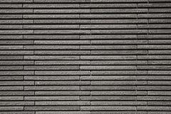 Τακτοποιημένος ορθογώνιος τοίχος πετρών αποκοπών Στοκ Εικόνα