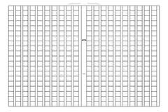 Τακτοποιημένο έγγραφο χειρογράφων ελεύθερη απεικόνιση δικαιώματος