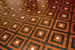 Τακτοποιημένο σχέδιο στο πάτωμα Στοκ Φωτογραφίες