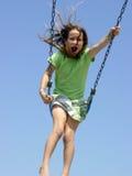 ταλάντευση κοριτσιών Στοκ φωτογραφίες με δικαίωμα ελεύθερης χρήσης