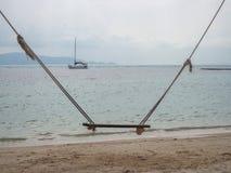 Ταλάντευση σχοινιών θαλασσίως στοκ φωτογραφίες με δικαίωμα ελεύθερης χρήσης