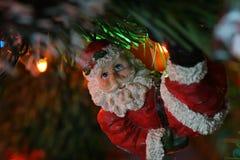 ταλάντευση santa Στοκ φωτογραφία με δικαίωμα ελεύθερης χρήσης
