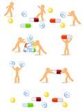 ταμπλέτες διασκέδασης Στοκ Εικόνα