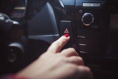 ταμπλό αυτοκινήτων σύγχρονο στοκ φωτογραφία