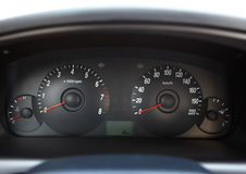 ταμπλό αυτοκινήτων Στοκ εικόνες με δικαίωμα ελεύθερης χρήσης