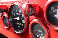 Ταμπλό ενός εκλεκτής ποιότητας αυτοκινήτου Στοκ Εικόνες