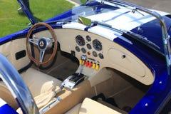 Ταμπλό του αναδρομικού αυτοκινήτου στοκ φωτογραφίες με δικαίωμα ελεύθερης χρήσης