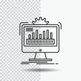 ταμπλό, admin, όργανο ελέγχου, έλεγχος, εικονίδιο γραμμών επεξεργασίας στο διαφανές υπόβαθρο Μαύρη διανυσματική απεικόνιση εικονι διανυσματική απεικόνιση