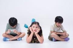 Ταμπλέτα παιχνιδιού παιδιών Στοκ φωτογραφία με δικαίωμα ελεύθερης χρήσης