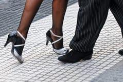 τανγκό παπουτσιών Στοκ Φωτογραφίες