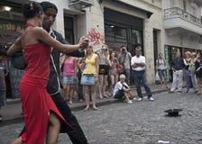 Τανγκό στο Μπουένος Άιρες στοκ φωτογραφίες με δικαίωμα ελεύθερης χρήσης
