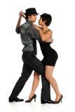 τανγκό χορού ζευγών Στοκ εικόνες με δικαίωμα ελεύθερης χρήσης