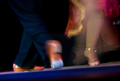 τανγκό χορού Στοκ εικόνες με δικαίωμα ελεύθερης χρήσης