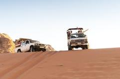 Ταξίδι άμμου Jordania στοκ φωτογραφία με δικαίωμα ελεύθερης χρήσης