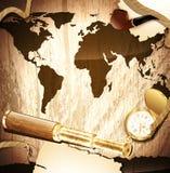 ταξίδι ανασκόπησης ελεύθερη απεικόνιση δικαιώματος