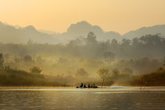 Ταξίδι από τον ποταμό. Στοκ Εικόνες