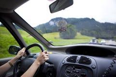 ταξίδι αυτοκινήτων Στοκ φωτογραφία με δικαίωμα ελεύθερης χρήσης