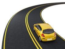 ταξίδι αυτοκινήτων διανυσματική απεικόνιση
