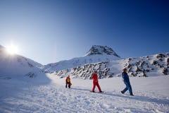 ταξίδι βουνών Στοκ Εικόνες