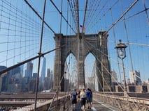 Ταξίδι γεφυρών του Μπρούκλιν Στοκ Φωτογραφίες