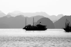 ταξίδι θάλασσας αυγής Στοκ φωτογραφία με δικαίωμα ελεύθερης χρήσης