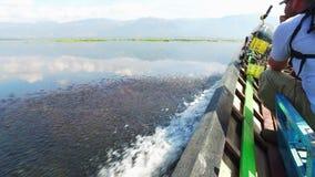 Ταξίδι λιμνών Inle στο Μιανμάρ φιλμ μικρού μήκους