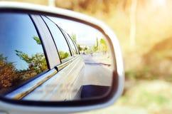 ταξίδι παιχνιδιών χαρτών της Ευρώπης αυτοκινήτων Εννοιολογικό τοπίο φθινοπώρου στοκ φωτογραφίες με δικαίωμα ελεύθερης χρήσης