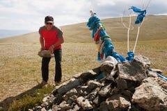 ταξίδι παράδοσης της Μογγολίας Στοκ φωτογραφίες με δικαίωμα ελεύθερης χρήσης