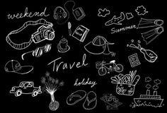 ταξίδι σκίτσων σχεδίων Στοκ Φωτογραφίες