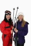 ταξίδι σκι Στοκ εικόνα με δικαίωμα ελεύθερης χρήσης