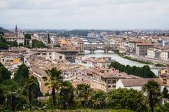 Ταξίδι στην Ιταλία Φανταστική Φλωρεντία Στοκ Φωτογραφία