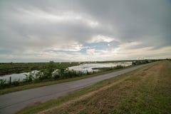 Ταξίδι στην του δέλτα Po del χώρα ποταμών Στοκ εικόνα με δικαίωμα ελεύθερης χρήσης
